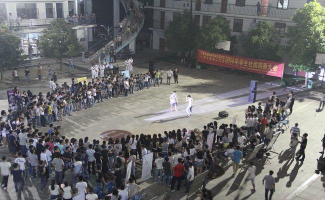 我院长堽校区(广西公路技工学校)学生社团招新活动如火如荼